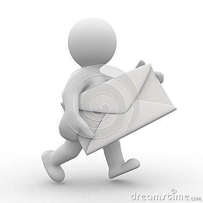 Free Mailman Stock Photo - 6622750