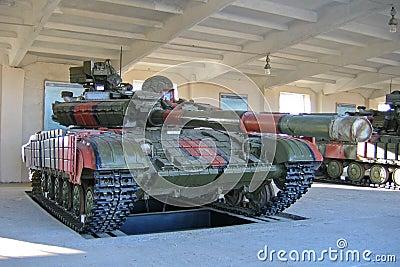 Main battle tank T-64BV