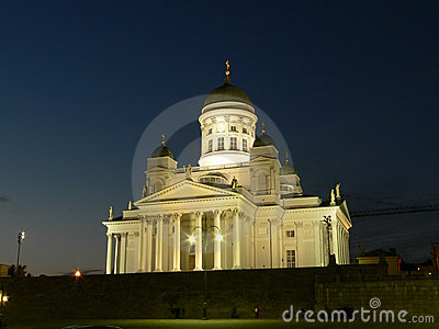 Main cathedral of Helsinki