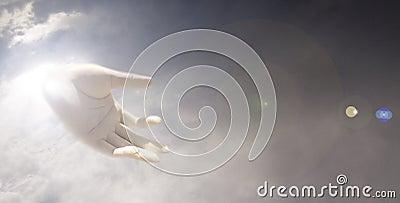 Main de dieux
