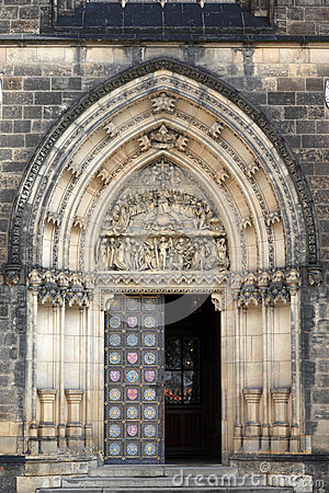 Free Main Door Of The Cathedral Stock Photography - 39670792