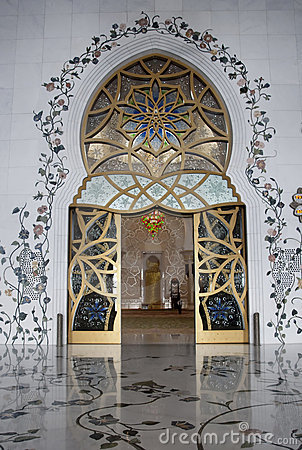 Main Door Sheikh Zayed Mosque