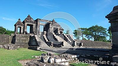 Main gate of ratu boko palace