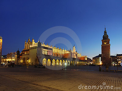 Main Market Square by Night