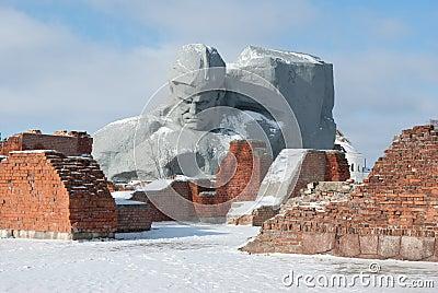 Main monument Brest Hero Fortress