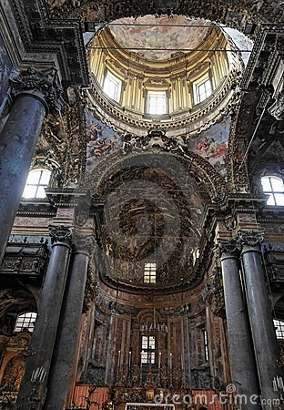 Main Nave San Giuseppe dei Teatini  Palermo