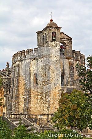 The main portal of the monastery Templar