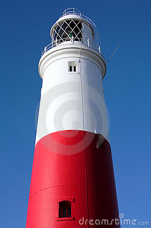 Free Main Red And White Lighthouse On Portland Near Weymouth In Dorset Royalty Free Stock Photos - 1942868