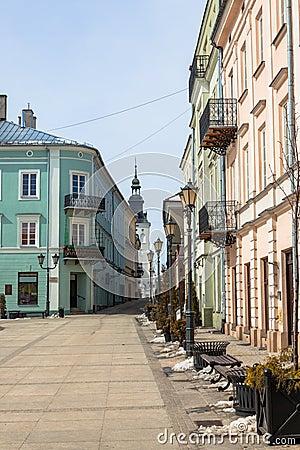 Main square in Piotrkow Trybunalski