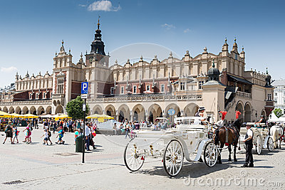 Main Square, Krakow Editorial Image