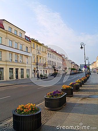 Main street (Novy Swiat), Warsaw