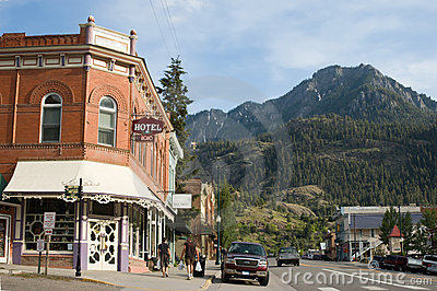 Main Street in Ouray, Colorado