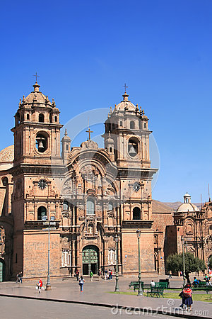 Main tourist attraction in Cusco , Peru