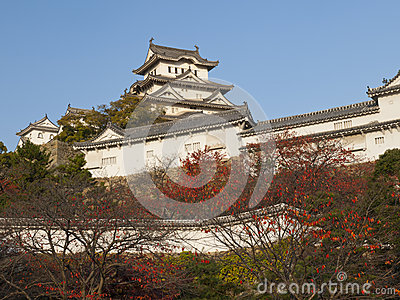 Main tower of Himeji castle