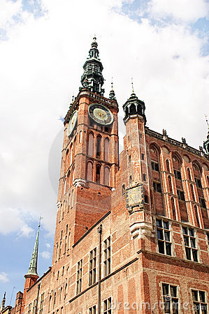 The Main Town Hall of Gdansk, Poland