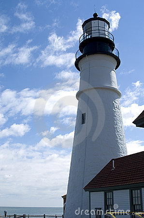 Free Maine Lighthouse Royalty Free Stock Photo - 690755