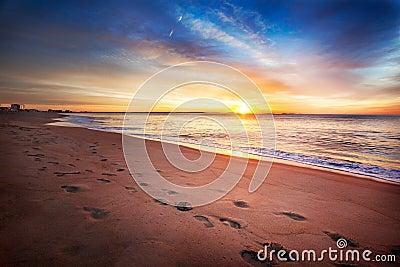 Maine summer sunrise