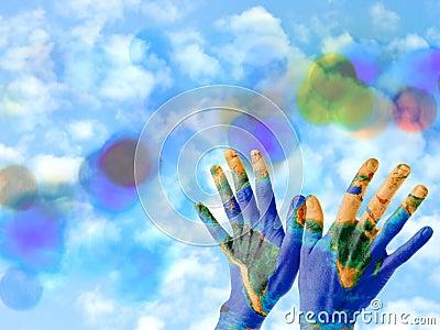 Mains de la terre