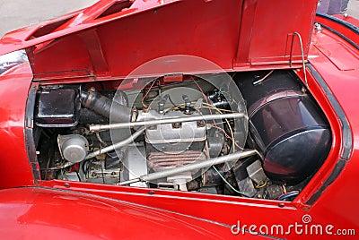 Maintenance the car engine