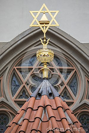 Free Maisel Synagogue In Prague Stock Photography - 107079102