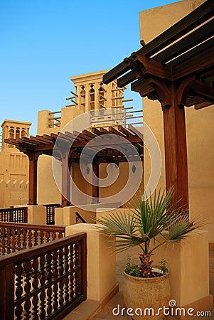 Maison arabe photographie stock libre de droits image for Architecture maison arabe