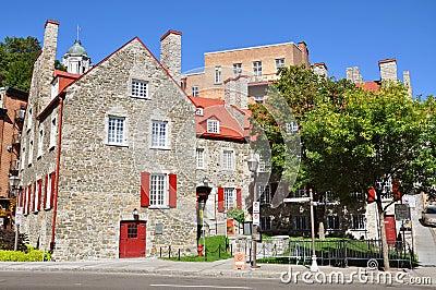 Maison Chevalier, Quebec City, Canada Stock Image - Image: 21180831