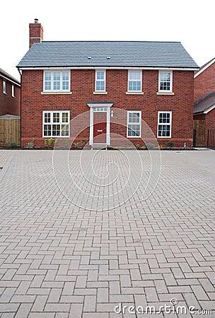Maison brique la brique alvolaire monomur maison faade - Maison en brique rouge ...