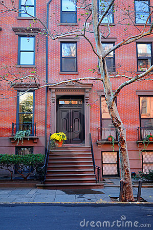 Maison de brooklyn image libre de droits image 7535746 for Art et maison new york