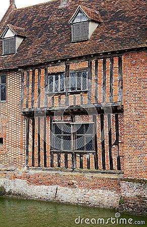 Maison de fossé de Tudor
