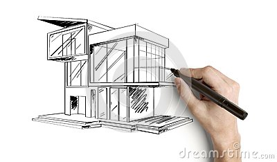 cottage de dessin photos stock image 25417203 - Maison Moderne Dessin