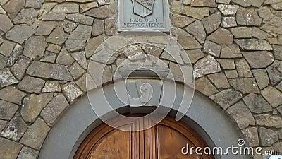 Maison de Vespucci banque de vidéos