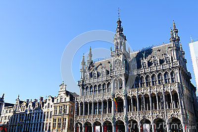 Maison du Roi at Grand Place in Brussels, Belgium