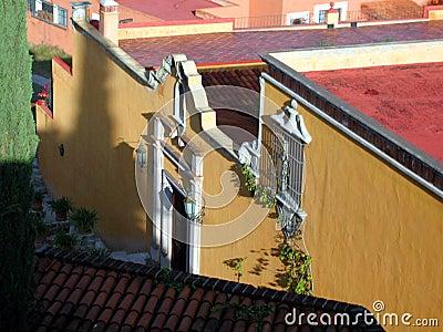 Maison jaune - San Miguel Mexique