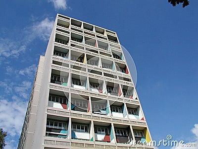 Maison Le Corbusier (Unitè d Habitation), Berlin