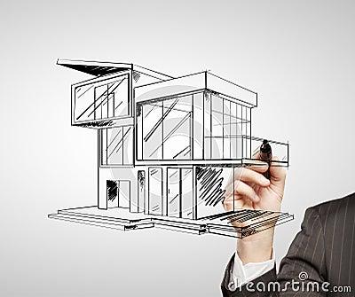 maison moderne de dessin - Maison Moderne Dessin