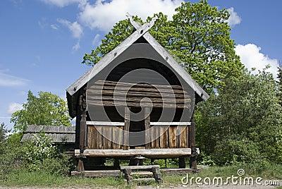 Maison scandinave photo libre de droits image 20089915 - Maison bois scandinave ...