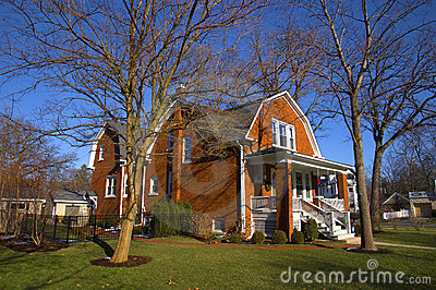 Maison suburbaine en Illinois