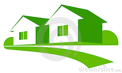 Maisons vertes