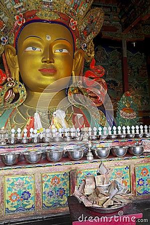Maitreya Buddha from Thiksey