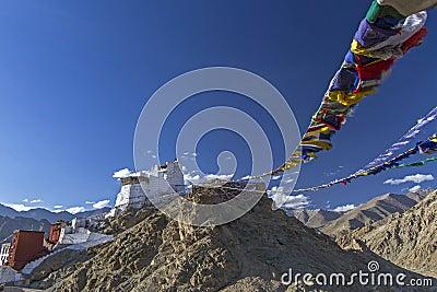 Maitreya Temple in Leh, Ladakh, India