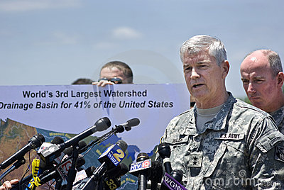Maj. Gen. Michael Walsh Editorial Image