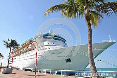 Majestade dos mares em Key West Foto de Stock Editorial