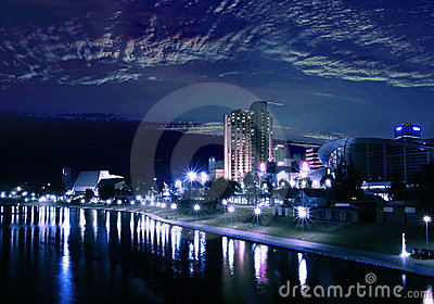 Adelaide City (again) During The Night !