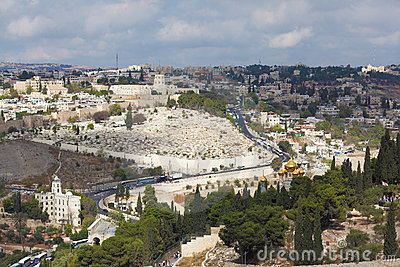 Majestic ancient Jerusalem.