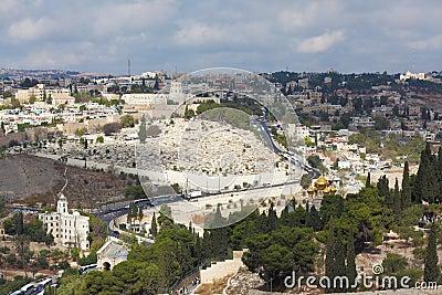 Majestic ancient Jerusalem.
