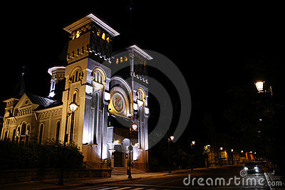 Majestic building in Baia Mare
