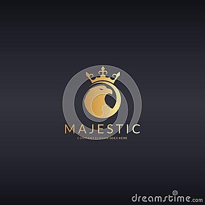 Free Majestic. Eagle Logo Royalty Free Stock Images - 84247029