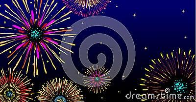 Majestic firework