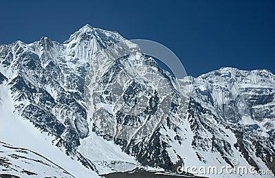 Majestic Himalayan range.