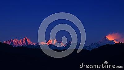 The majestic Kanchenjunga